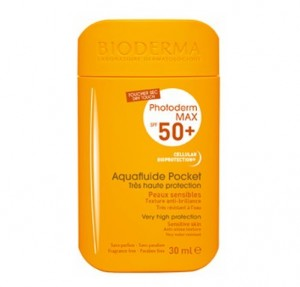 Photoderm MAX SPF50+ Aquafluide Pocket Fluido , 30 ml. - Bioderma