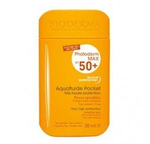 Photoderm MAX SPF50+ Aquafluide Pocket Fluido , 30 ml. - Bioderma
