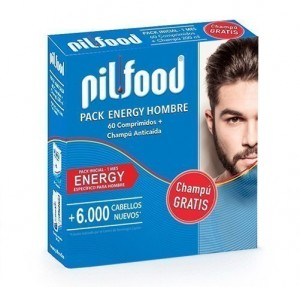 Pilfood Pack Energy Hombre, 60 Cap. + Champú ATC, 200 ml. - Laboratorio Serra Pamies