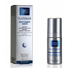 Platinum Night Renew Sérum, 30 ml. - Martiderm