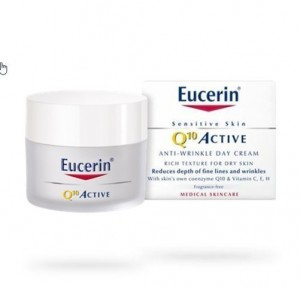Q10 ACTIVE Crema Día Anti-arrugas Piel Seca 50 ml. - Eucerin