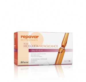 Repavar® Reevitalizante Rosa Mosqueta Metaglicanos Cell Renew 1 ml x 30 Ampollas. - Ferrer