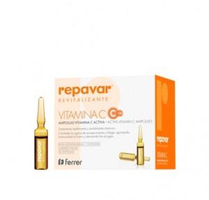 Repavar® Reevitalizante Vitamina C Activa 1 ml x 20 Ampollas. - Ferrer