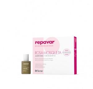 Repavar® Regeneradora Aceite 100% Puro de Rosa Mosqueta Rubiginosa, 15 ml. - Ferrer