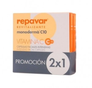 Repavar Revitalizante Monoderma C10, 28 cap. 2x1. - Ferrer