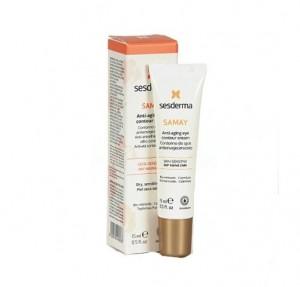 Samay Contorno de Ojos Anti-envejecimiento, 15 ml. - Sesderma