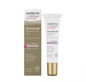 SESRETINAL Mature Skin Gel Contorno de Ojos, 15 ml. - Sesderma