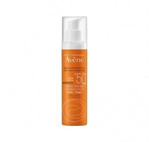 Solar Anti-edad con Color SPF 50+. - Avene