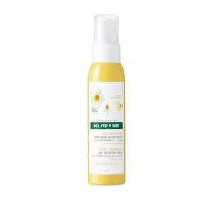 Spray Aclarador a la Camomila y a la Miel, 125 ml. - Klorane