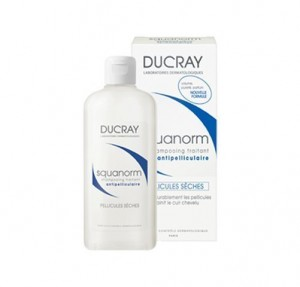 Squanorm Champú Tratante Anticaspa - Caspa seca, 200 ml.- Ducray