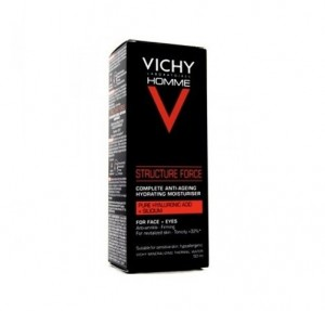 Structure Force Crema Facial Hombre, 50 ml. - Vichy