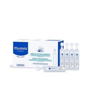 Suero Fisiológico, Caja 20 Monodosis x 5 ml. - Mustela