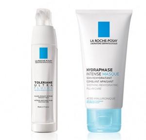 Toleriane Ultra Fluido, 40 ml. + Hydraphese Intense Masque, 50 ml. - La Roche Posay