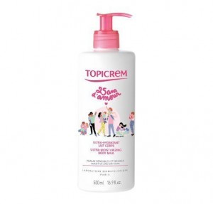 Topicrem Ultra- Hidratante Leche Corporal, 500 ml. - Mayoly