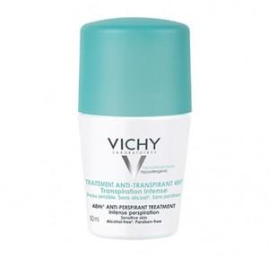 Desodorante Tratamiento Anti-Transpirante 48h. Roll-on, 50 ml.- Vichy