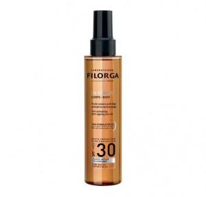 UV-Bronze Cuerpo SPF30 Aceite Solar Antiedad Acelerador del Bronceado, 150 ml. - Filorga