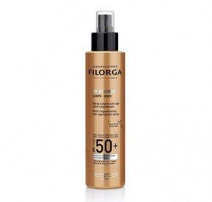 UV-Bronze Body SPF50+  Spray Solar Antiedad Nutri-Regenerante, 150 ml. - Filorga
