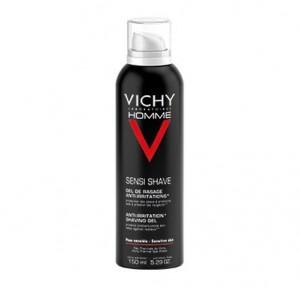 Vichy Homme Gel de Afeitado Anti-Irritaciones, 150 ml. - Vichy