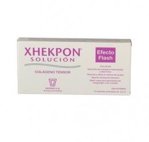Xhekpon Solucion Colageno Tensor  Efecto Flash 10 Ampollas de 2,5 ml. -  Vectem