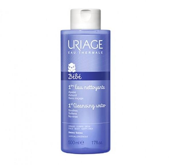 1ère EAU Agua Limpiadora Suave, 500 ml.- Uriage
