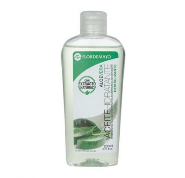 Aceite Hidratante Aloe Vera, 200 ml.- Flor de Mayo