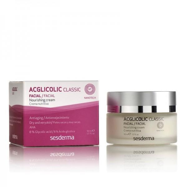 Acglicolic Classic Crema Nutritiva, 50 ml. - Sesderma