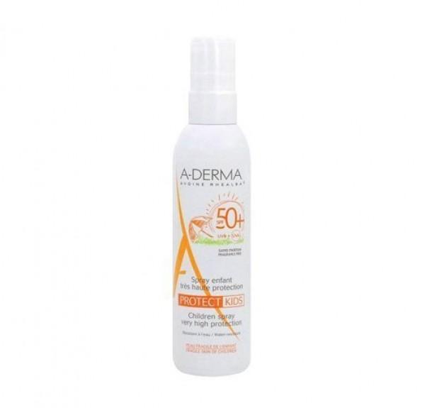 Aderma Protect Spray Niños 50+, 200 ml. - A-Derma