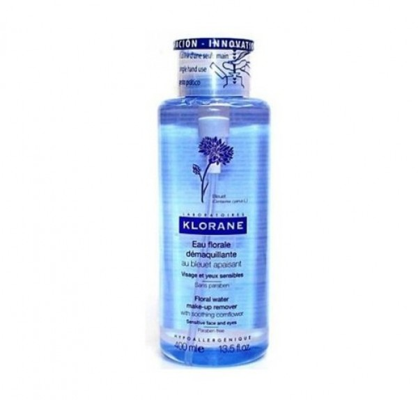 Agua Micelar Floral Desmaquillante Calmante, 400 ml. - Klorane