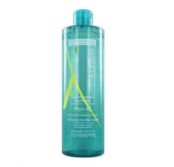 Phys-Ac Agua Micelar Purificante, 400 ml. - A-Derma