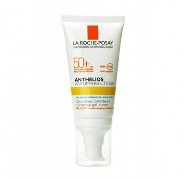 Anthelios Anti-Imperfecciones SPF+ 50 Gel Crema, 50 ml. - La Roche Posay
