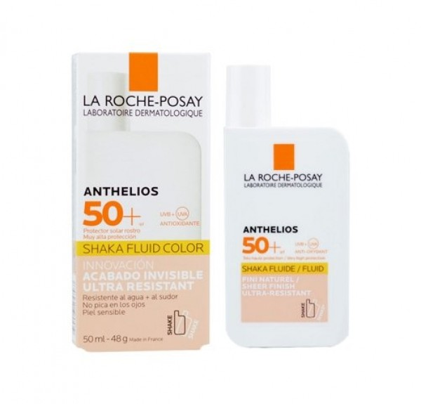 Anthelios Shaka Fluid Color SPF 50+, 50 ml. - La Roche Posay