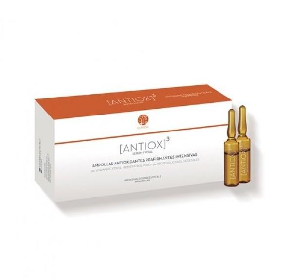 Antiox 3, Ampollas Antioxidantes,Reafirmantes Intensivas, 30 x 2 ml. - Segle Clinical