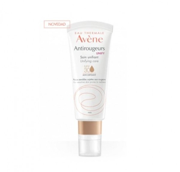 Antirrojeces Unify Cuidado Unificador  SPF 30, 40 ml. - Avene