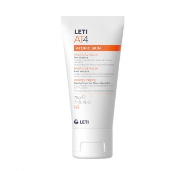 AT4 Atopic Skin Pasta al Agua 75 g. - LETIPharma