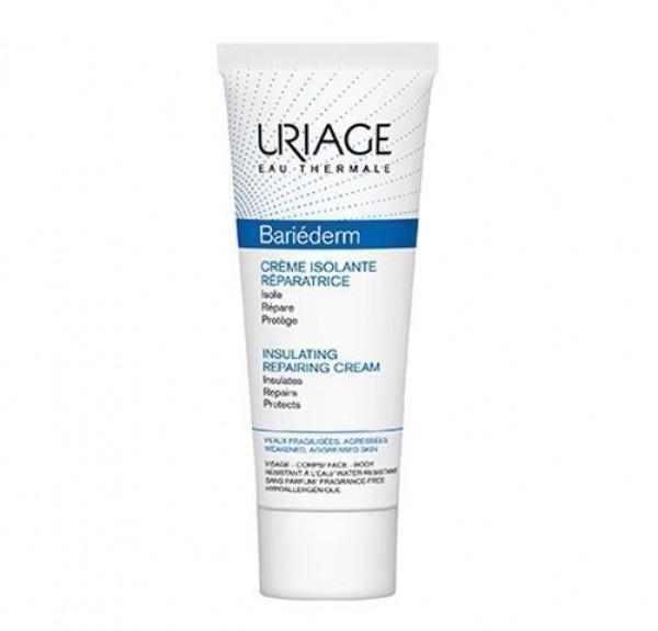Bariéderm Crema Aislante Y Reparadora, 75 ml. - Uriage