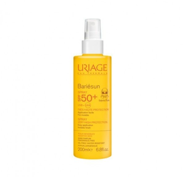 Bariésun Spray Niños SPF50+, 200 ml - Uriage