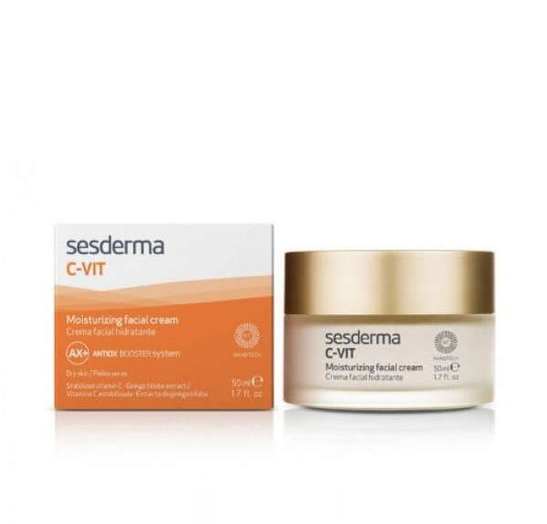C-VIT Crema Facial Hidratante, 50 ml. - Sesderma