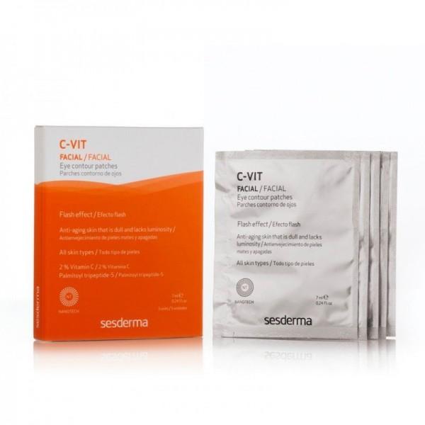 C-VIT Parches Contorno de Ojos, 5 uds de 4 ml. - Sesderma