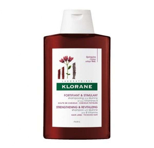 Champú Estimulante y Fortificante a la Quinina Con Vitaminas B, 400 ml. - Klorane