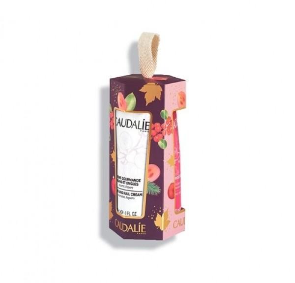 Cofrecito Trio Crema de Manos deliciosa, 30 ml. Thé des Vignes, 30 ml. y Rose de Vigne, 30 ml. - Caudalie