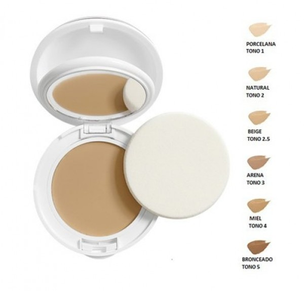 Couvrance Crema Compacta Textura Confort SPF30 Tono (04) Miel - Avene