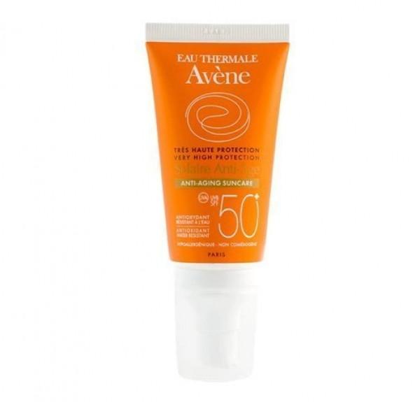 Crema Solar Anti-Edad SPF 50, 50 ml. - Avene