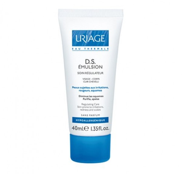 D.S. Émulsion Tratamiento Regulador, 40 ml. - Uriage