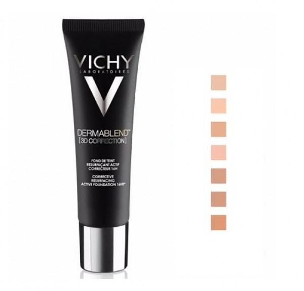 Dermablend Fondo De Maquillaje Corección 3D 16H Nº 45 Gold, 30 ml. - Vichy