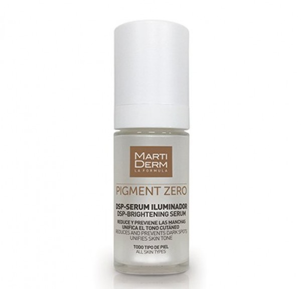 Pigment Zero DSP-Sérum Iluminador Despigmentante, 30 ml. - Martiderm