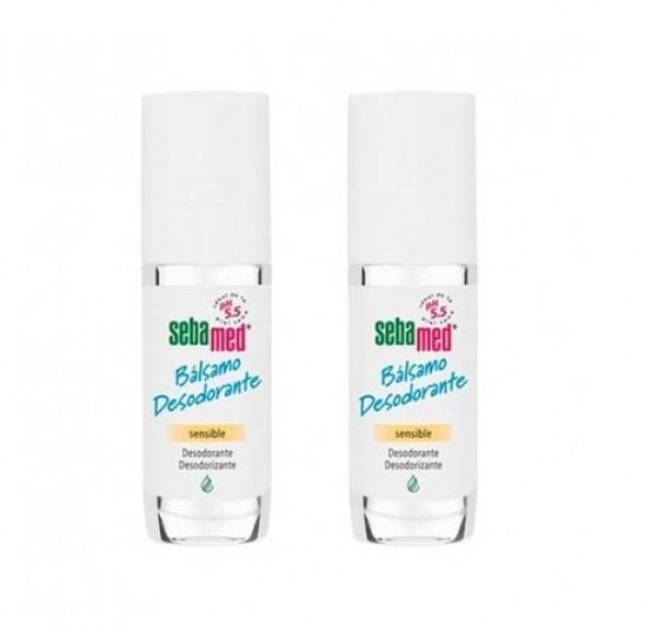 Duplo Sebamed Bálsamo Desodorante Roll-On, 2 x 50 ml. - LETIPharma