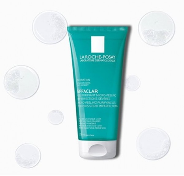 Effaclar Gel Purificante Micro-Exfoliante, 200 ml. - La Roche Posay