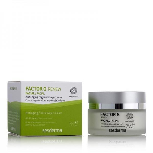 Factor G Renew Crema Regeneradora Antienvejecimiento, 50 ml. - Sesderma