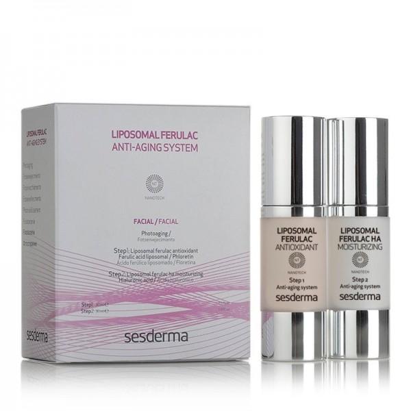 Ferulac Liposomal Antiaging System, 30 + 30 ml. - Sesderma