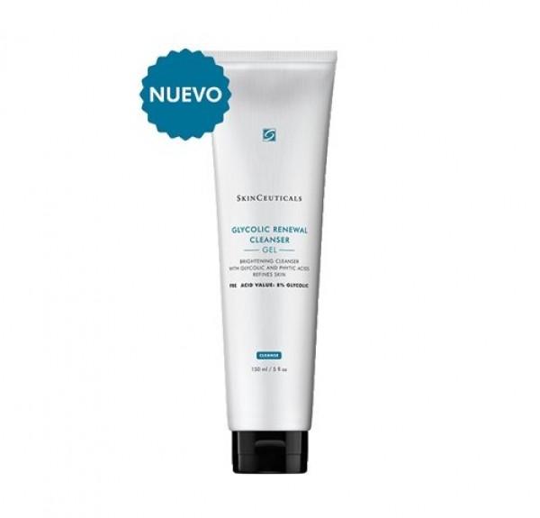 Glycolic Renewal Cleanser Gel, 150 ml. - Skinceuticals